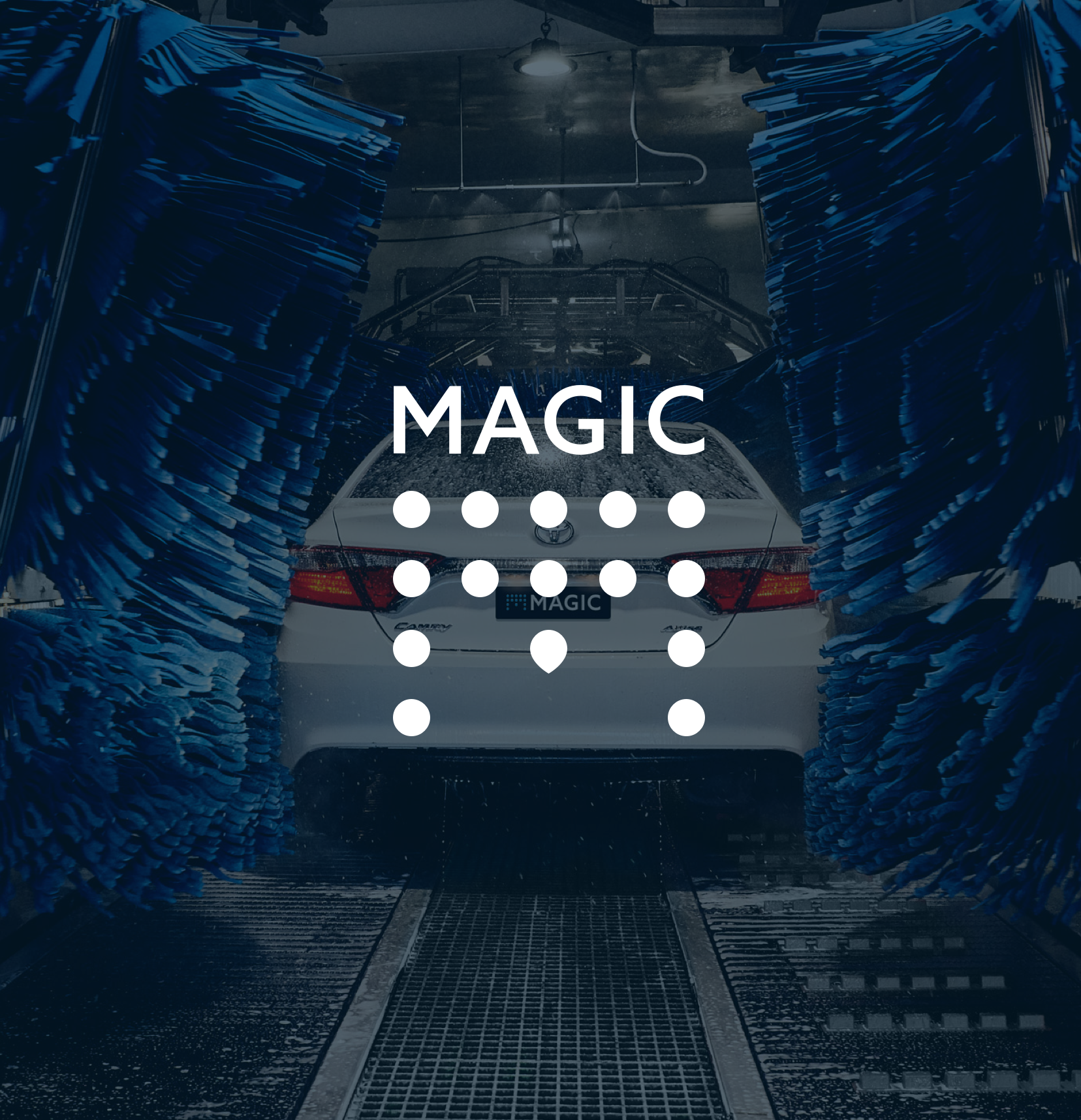 Magic Hand Carwash Logo